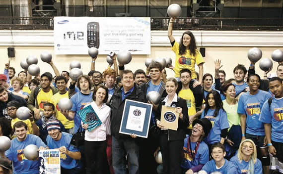 Samsung Mobile - Guinness World Record Breaking Campaign